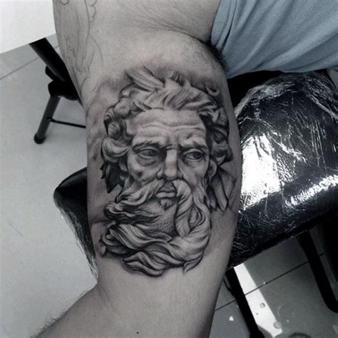 greek god tattoo designs 80 zeus designs for a thunderbolt of ideas