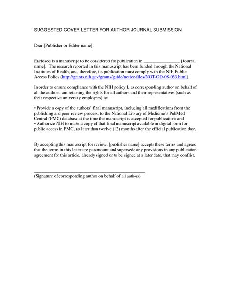cover letter picture book manuscript cover letter for manuscript to journal sle