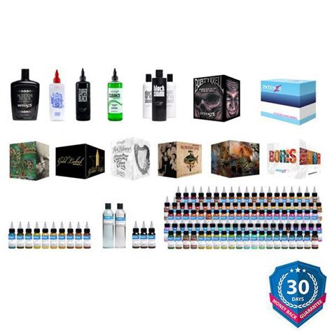 intenze tattoo ink sets intenze ultimate artist ink set intenze ink