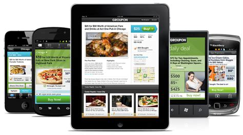 groupon mobile app daily deals groupon now snap fitness membership more