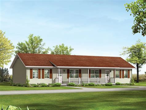 ranch home plans with front porch salem ii ranch duplex plan 001d 0098 house plans and more