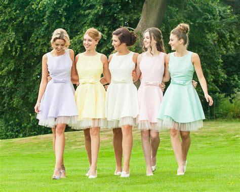 pastel color bridesmaid dresses 7 for choosing your bridesmaids dresses pastel