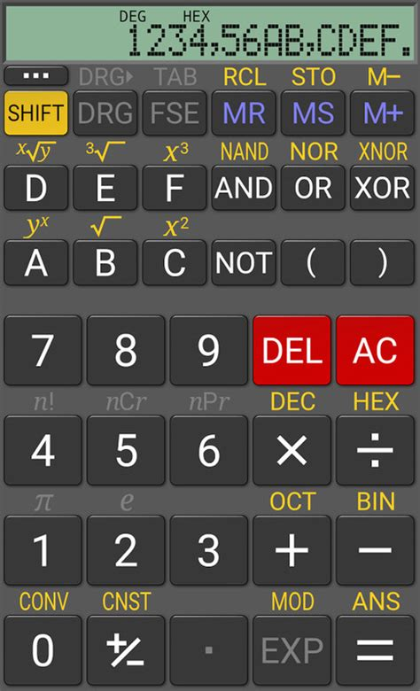 realcalc scientific calculator apk realcalc scientific calculator free motorola droid x app the free realcalc