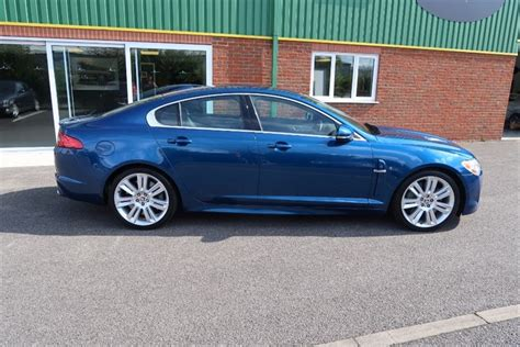 used jaguar xfr used kyanite blue metallic jaguar xfr for sale lincolnshire