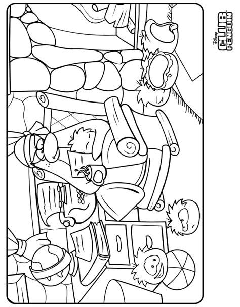 Club Penguin Coloring Pages Of Puffles 436 Free Club Penguin Coloring Pages