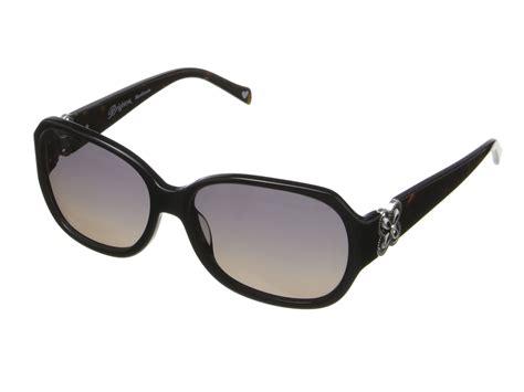 brighton power of sunglasses black tortoise zappos