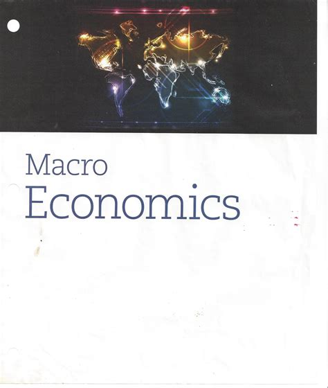 Syllabus For Lecture Principles Of Macroeconomics