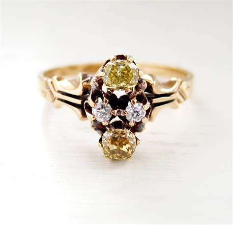 Gorgeous Vintage 5 Engagement Ring In Yellow by 750 Best Fancy Yellow Engagement Rings Images On