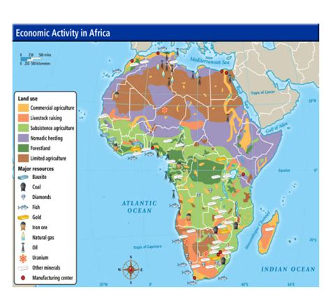africa map of resources maps pptx on emaze