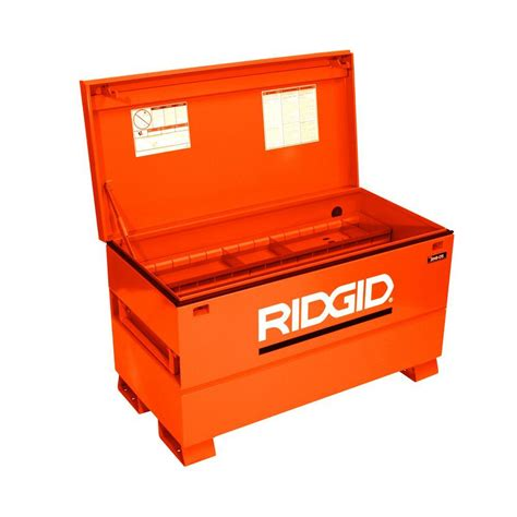home depot tool box ridgid 48 in x 24 in universal storage chest 2048 os