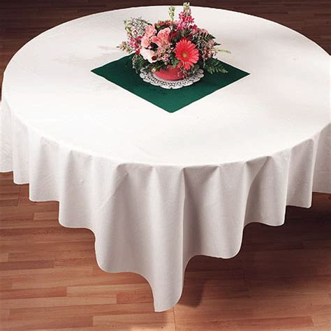 "white linen like paper tablecloths, 82"", bulk my paper shop"