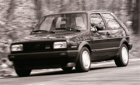 volkswagen golf 1987 volkswagen gti a history in pictures