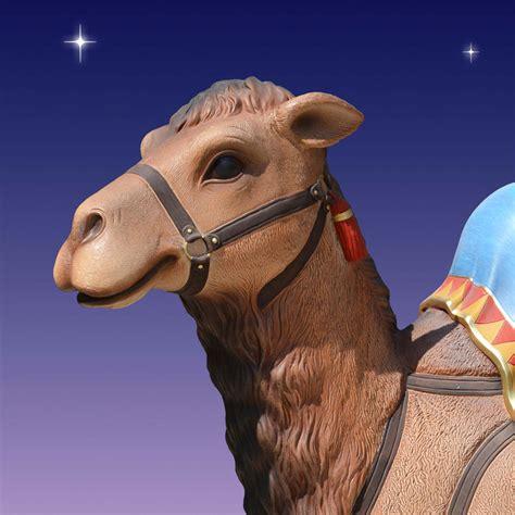 christmas camels 35in fiberglass resting camel christmasnightinc