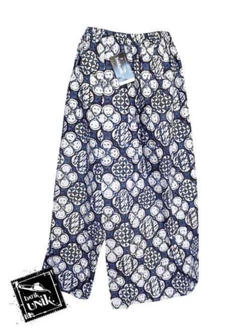 Celana Kain Jogja celana batik sarung panjang motif batik jogja klasik bawahan rok murah batikunik
