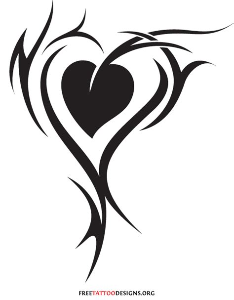 tribal heart tattoo 55 tattoos and sacred designs