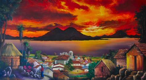 Dining Room Painting central american art guatemalan and salvadoran artwork