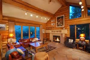 paredes de madera en casa ideas para decorar dise 241 ar y rustic contemporary living room luxury mountain homes