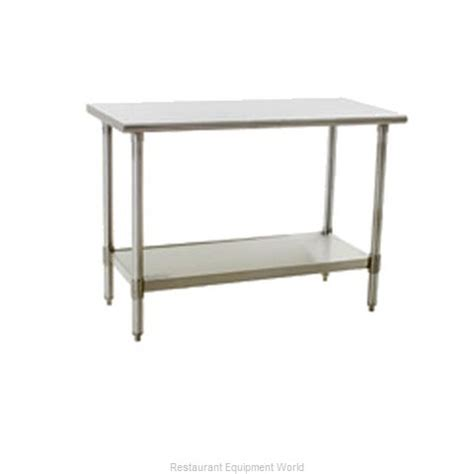 eagle work table eagle t4896se work table 85 quot 96 quot stainless steel top