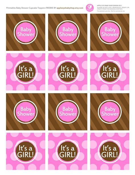 Baby Themes For Baby Showers by Free Printable Baby Cupcake Topper Baby Shower