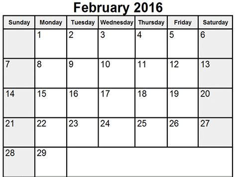 Calendar 2016 February Nz Search Results For Feb 2016 Calendar Printable Pdf