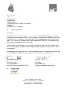 Appreciation Letter Award Winner outstanding construction award letter appreciation