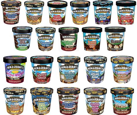 What Is Your Favorite Flavor Of Ben Jerrys by Brand New New Packaging For Ben Jerry S By Pearlfisher