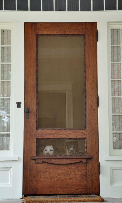 Screened Doors by Back Door Entryway We Need A New Door