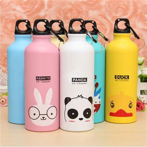 Bottle Minum Karakter Bottle Big Botol Beruang 500ml aliexpress buy loved water bottles animal pattern aluminum water bottle