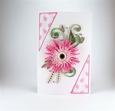 Beautiful Cards Handmade - birthday card for beautiful handmade quilling