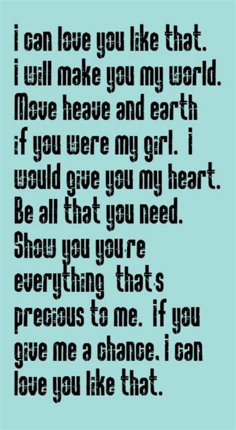 country music lyrics i love you joe john michael montgomery i can love you like that song