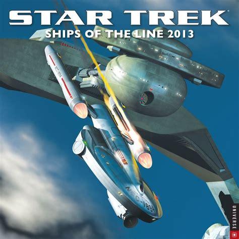libro star trek ships of the trek collective 2013 star trek calendars