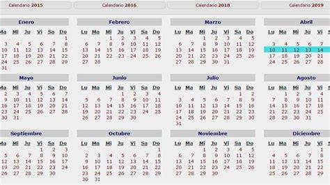 calendario 2016 festivos imss y pagos calendario laboral 2016 imss calendario laboral imss 2017