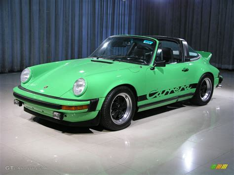 green porsche 1974 viper green porsche 911 targa 218904 photo