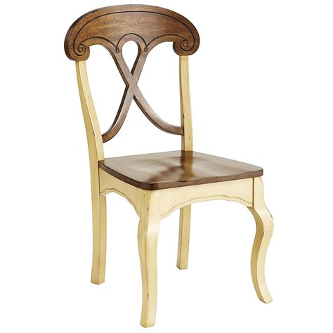 marchella antique ivory dining chair pier 1 imports