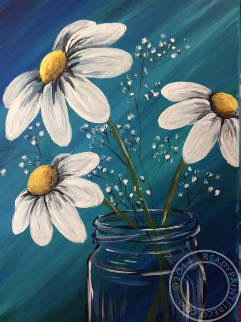 paint nite yellow canvas painting