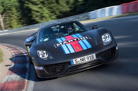 fastest porsche 918 porsche 918 spyder fastest production car around