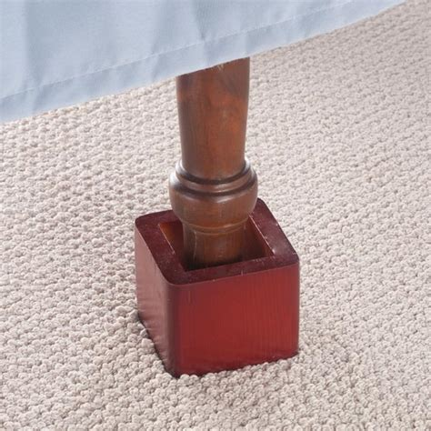 where to buy bed risers wood bed risers wood bed lifters walter drake