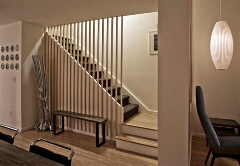 Townhouse Stairs Design Townhouse Renovation In San Diego Farmhouse Staircase San Diego By Jon Aud Design