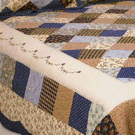 Cotton Patchwork Quilt - williamsburg cotton patchwork quilt bedding