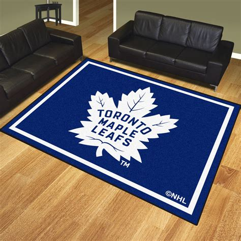 Plush Area Rugs 8x10 Toronto Maple Leafs 1 4 Quot Plush Area Rug 8 X 10