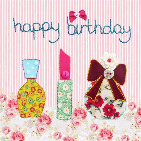 happy birthday make up girl by buttongirl designs