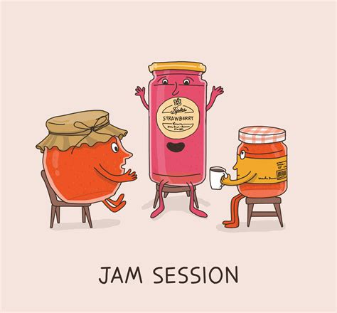 Design Jam Definition | cute illustrations of idioms literal meanings