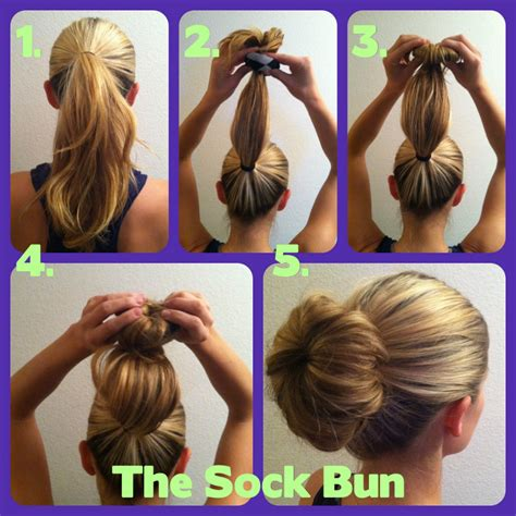 how to do diy sock hair buns with bows a sword woman s natural hair blog hairstyles the donut bun
