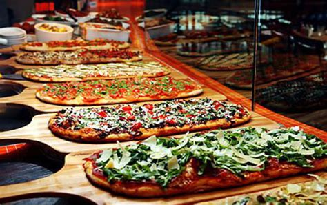 the pizza buffet gourmet pizza bars b lovely events