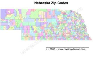 us cities zip code map nebraska zip code maps free nebraska zip code maps