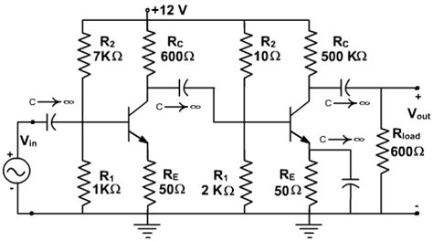 cascaded transistor lifier integrator and differentiator circuits experiment cascaded transistor lifier integrator and differentiator circuits 28 images two stage