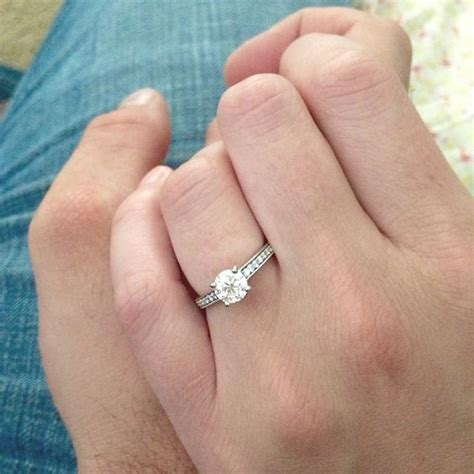 how to take a better engagement ring selfie bridalguide