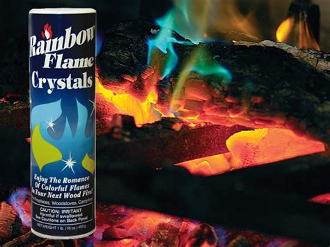 Fireplace Crystals by Rainbow Fireplace Crystals Getdatgadget
