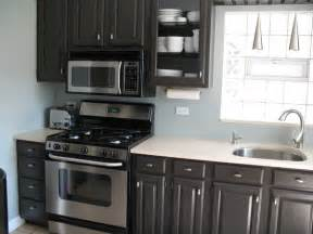 black kitchen cabinets what color on wall dark brown paint color for kitchen cabinets archives house decor picture