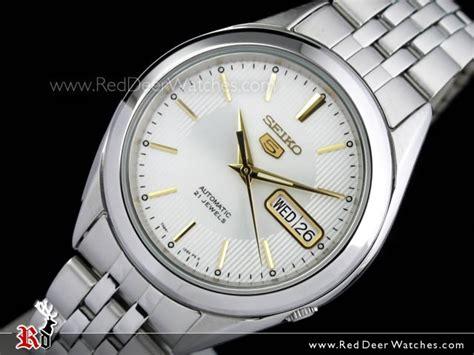 Seiko 5 Snkl17k1 Automatic buy seiko 5 automatic white gold mens see thru back